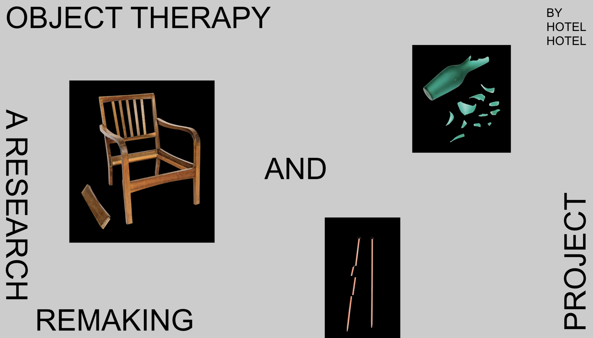 Screenshot of the 'Object Therapy' project website
