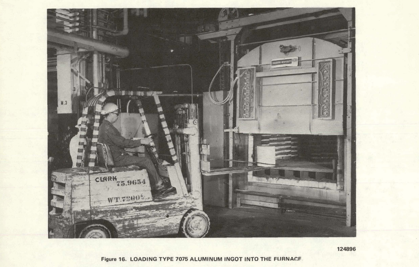 A screenshot of from the APOLLO LUNAR SAMPLE RETURN CONTAINER - SUMMARY REPORT, by Oak Ridge, 1973 showing the manufacturing process of the ALSRC