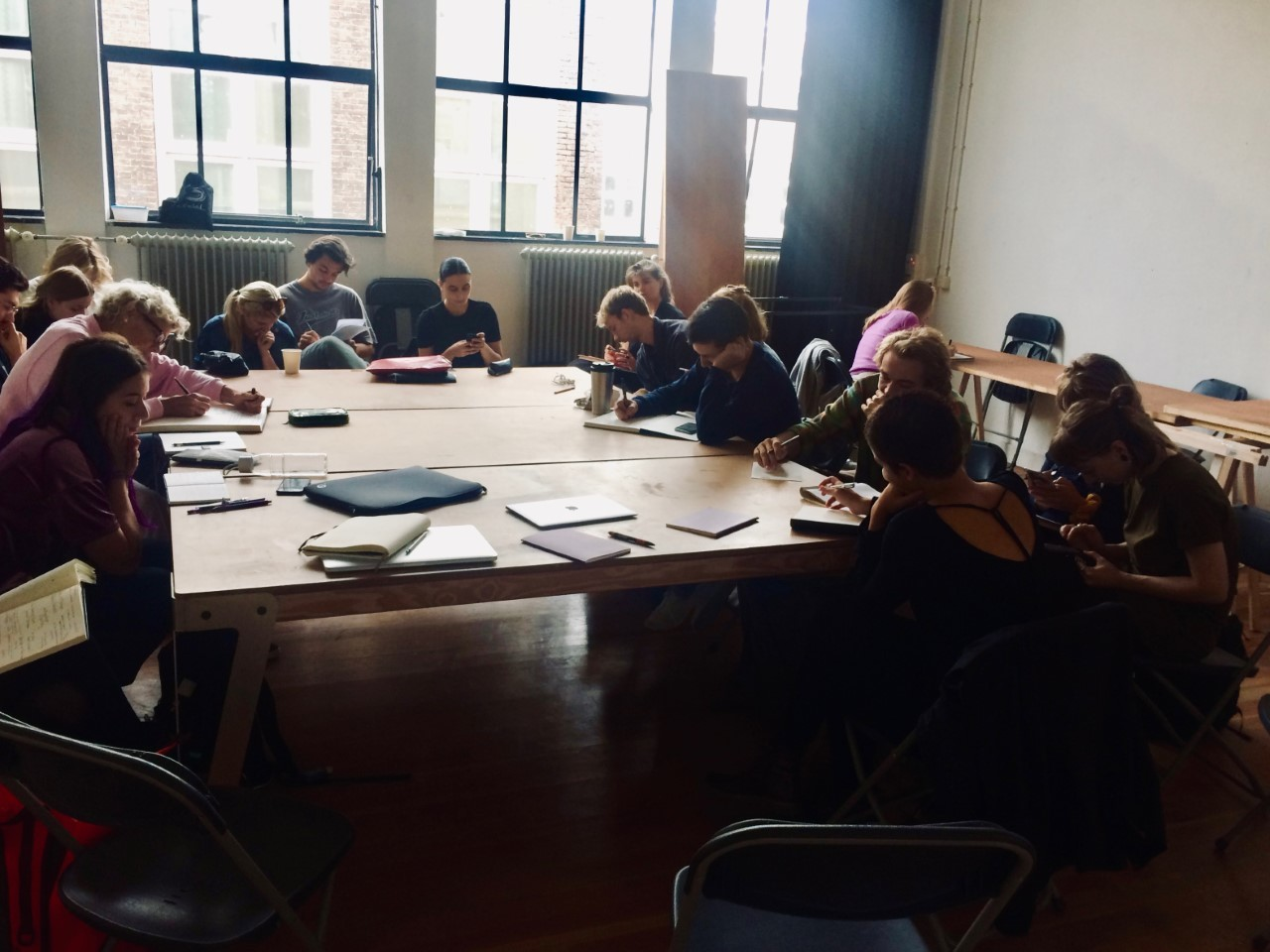 Reflection and writing at the IST Lab 'Crafting your Thinking, Reflecting your Craft', 2018