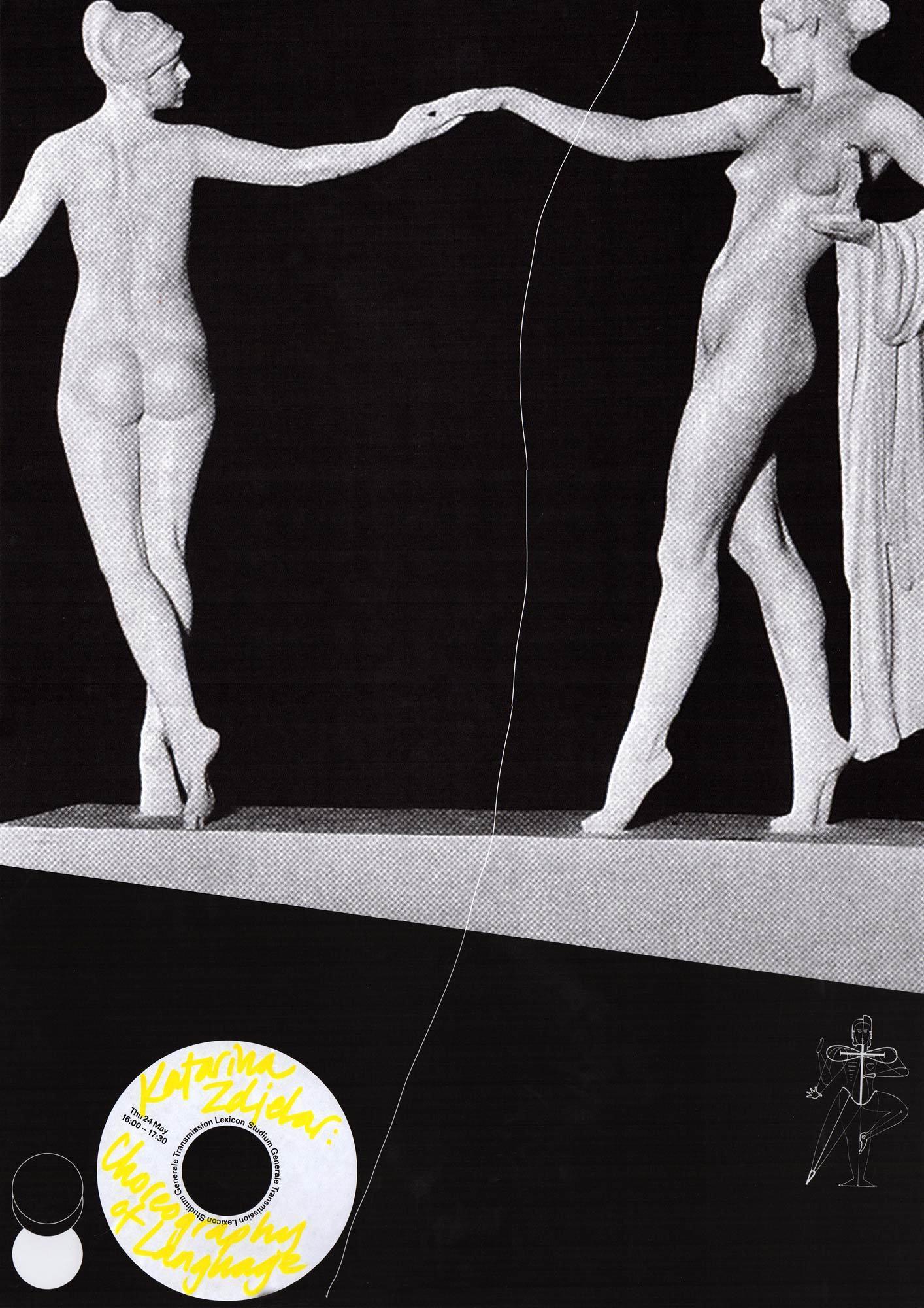 KABK Studium Generale Lecture: 'Choreography of Language' by Katarina Zdjelar