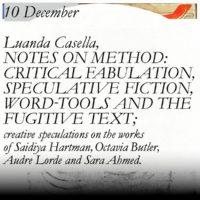 Online Studium Generale lecture - Luanda Casella