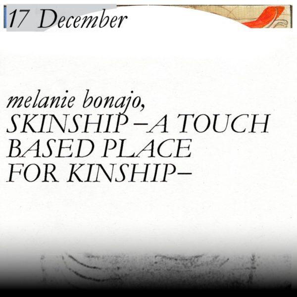 Wztch Craft lecture by melanie bonajo