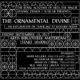The Ornamental Divine