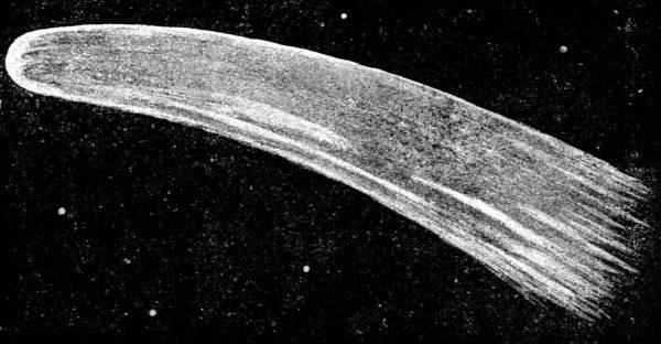 Halley's comet - image NEST