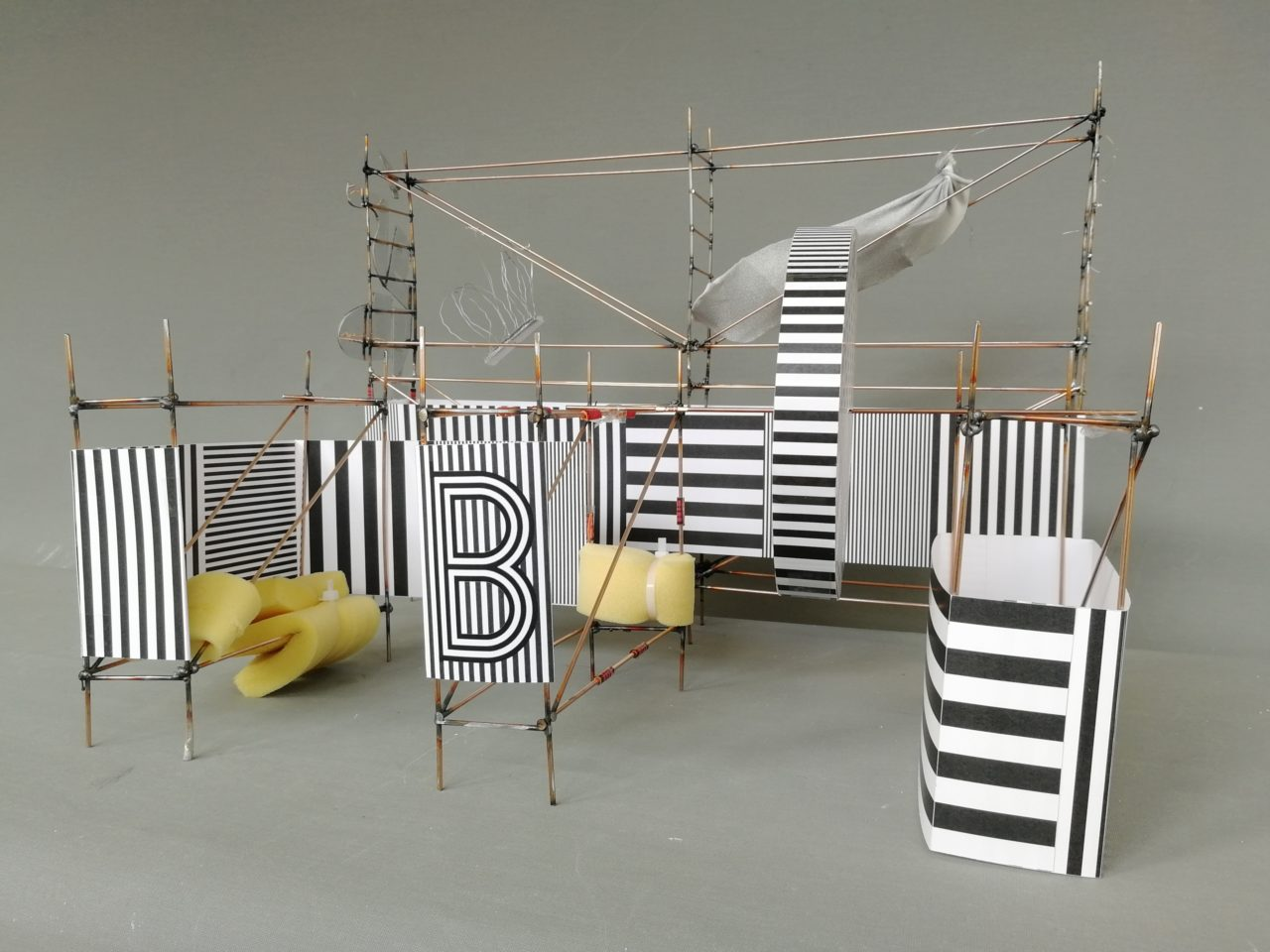 pop-up installation