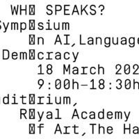 Symposium: Who Speaks?
