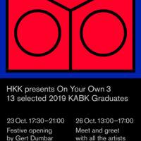 Haagse Kunstkring X KABK alumni 2019: Exhibition 'On Your Own'
