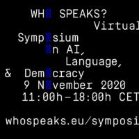 Who Speaks? - Symposium