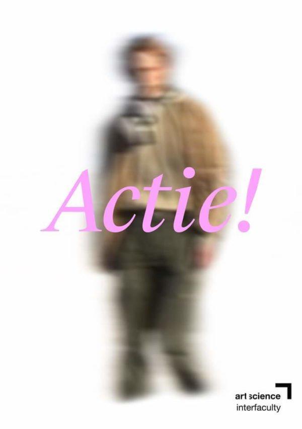 Actie! poster ArtScience preview show 2021