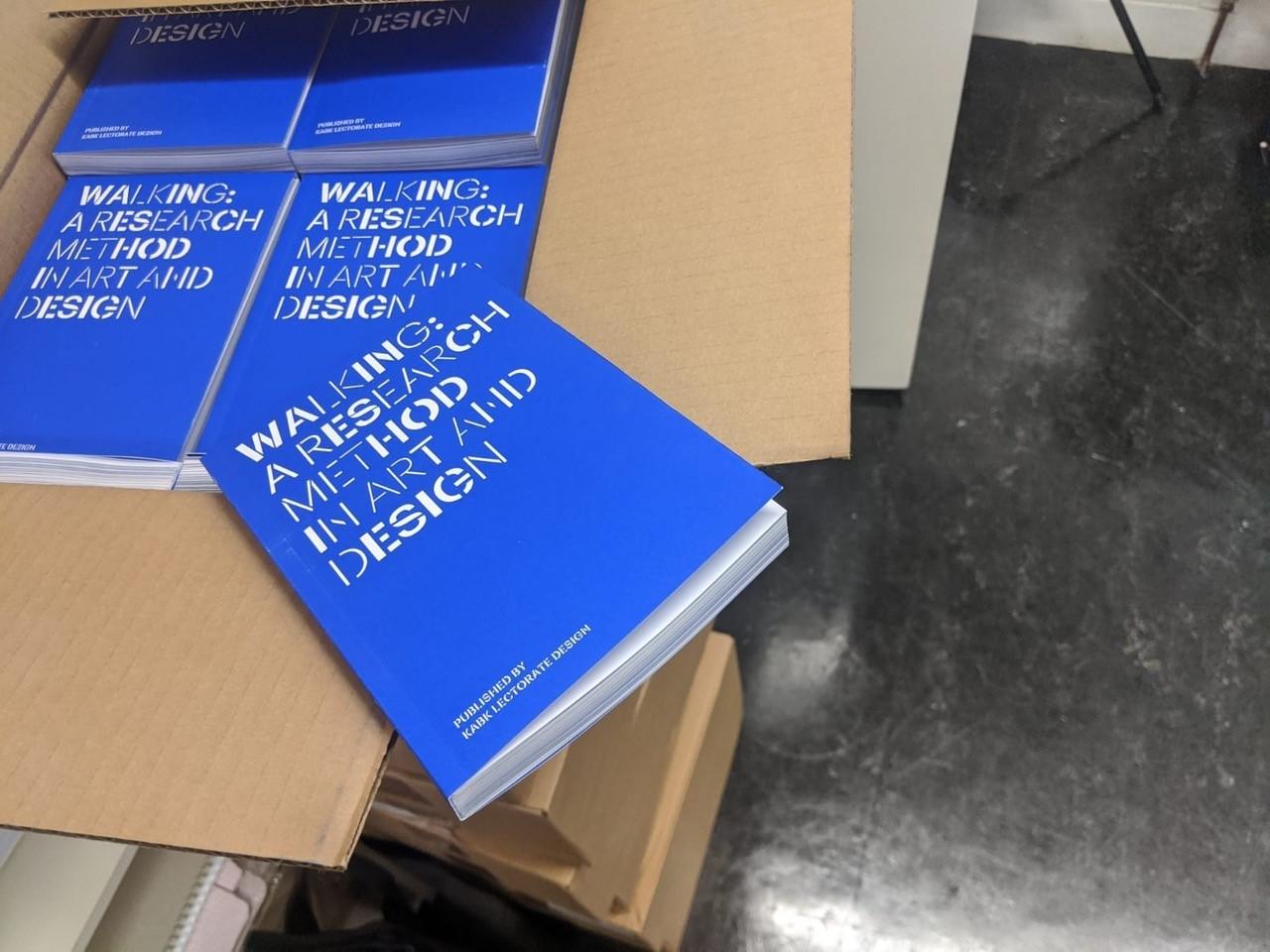 KABK publication Walking as a Research Method