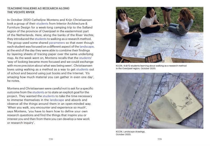 spread Walking as a Research Method publication