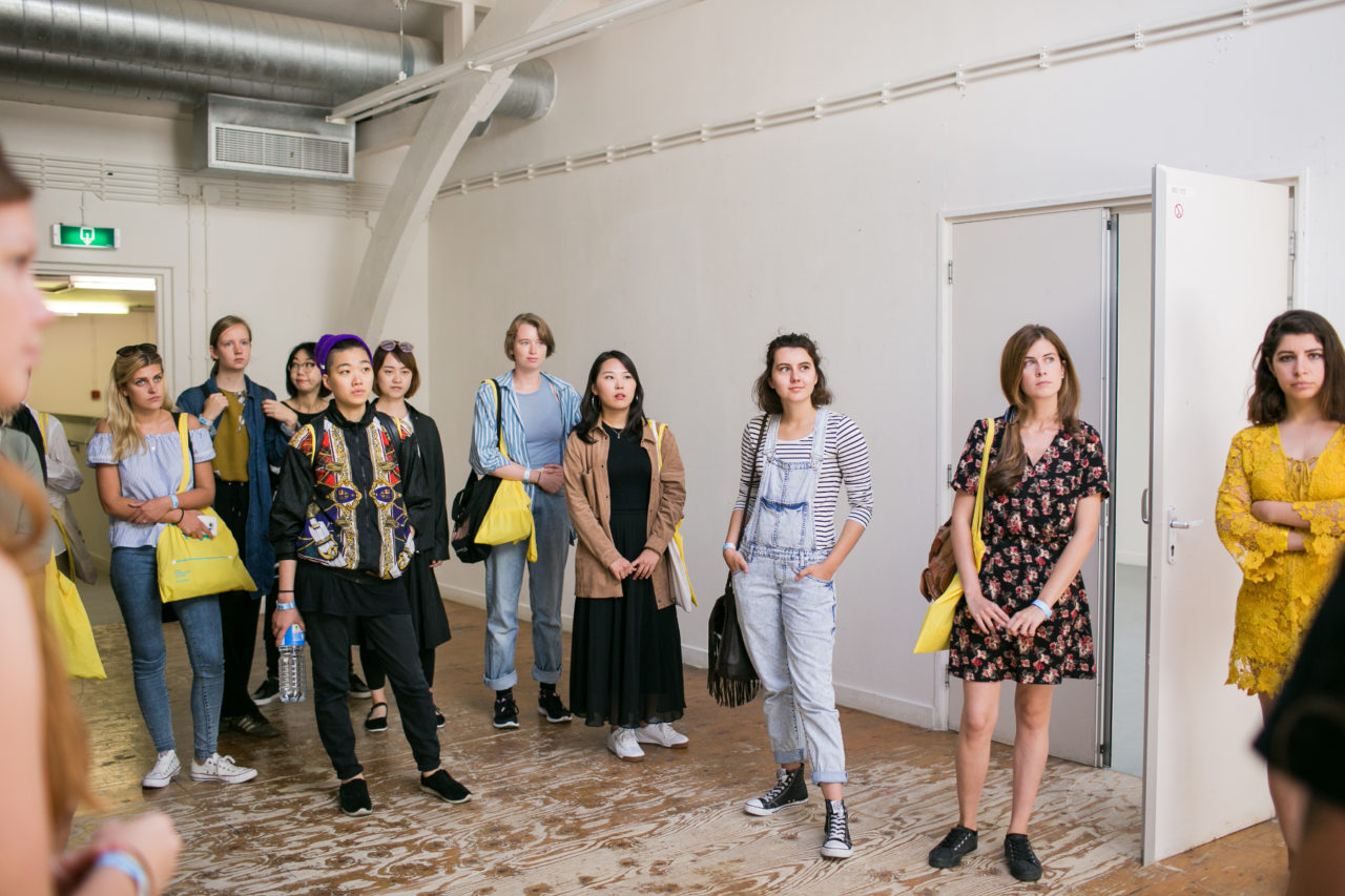 students interested in studying at the Royal Academy of Art The Hague, follow a KABK Tour