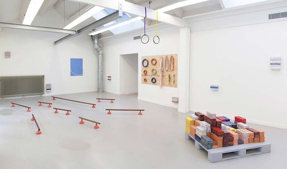 Installation view graduation project Suzie van Staaveren, Fine Arts 2016
