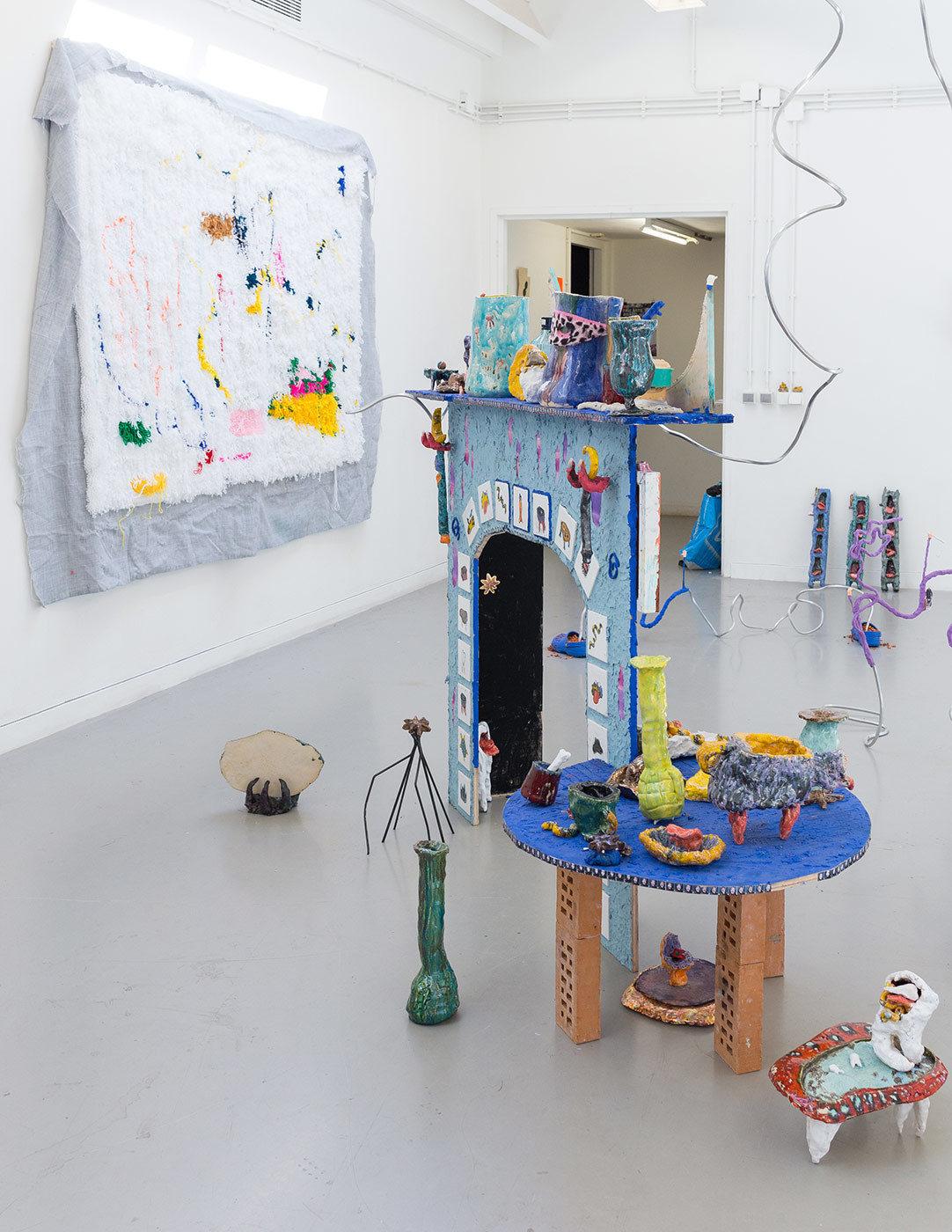 Afra Eisma graduation project, KABK Fine Arts 2017
