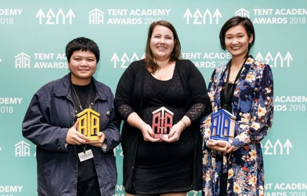 Winners Tent Academy Awards 2018