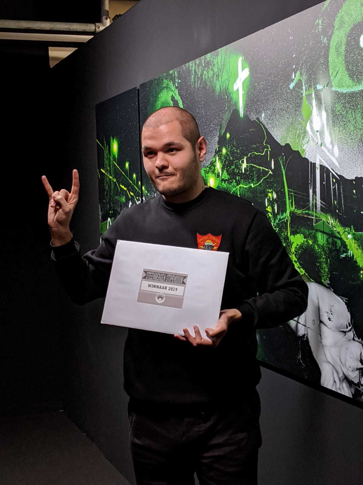 Viktor Naumovski wint Steenbergen Stipendium 2019