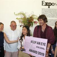 Stella Kim winner of the Keep an Eye Textile & Fashion Award 2019