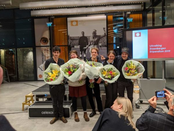 Nominees Steenbergen Stipendium 2019