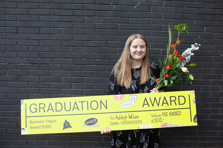 Ashleigh Wilson, Royal Academy Bachelor Thesis Award winner 2020