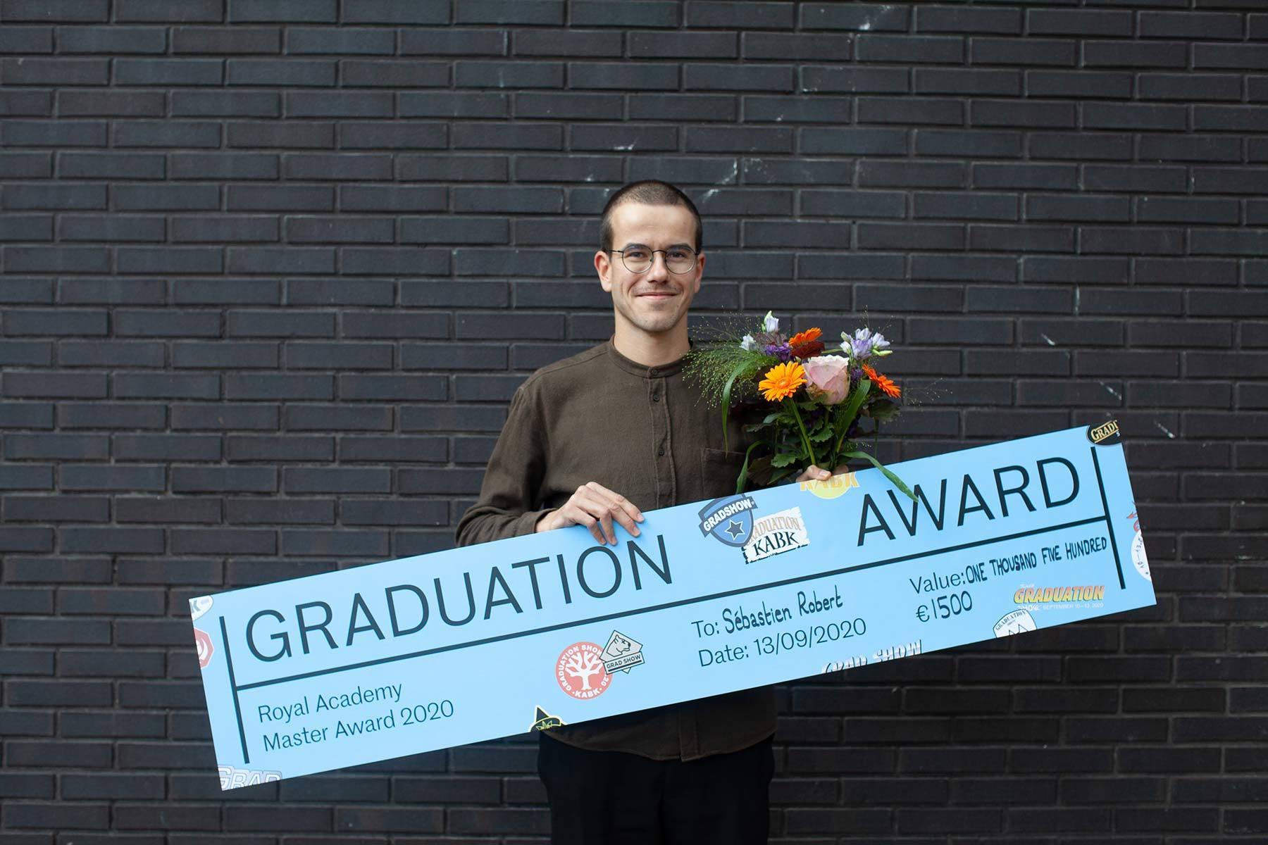Sébastien Robert, Royal Academy Master Award Winner 2020