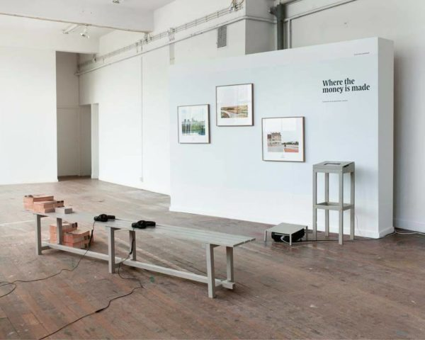 Installation view of graduation project by Eline Benjaminsen