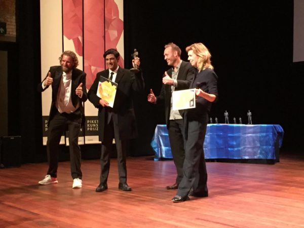 KABK alumus Julien Guettab receives Piket Art Award