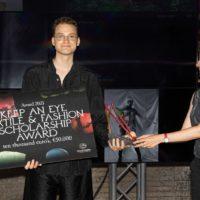 Max Willebrand Westin ontvangt Keep An Eye Textile & Fashion Scholarship