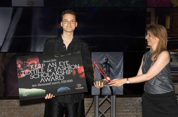 Max Willebrand Westin wins Keep an Eye Textile & Fashion Scholarship