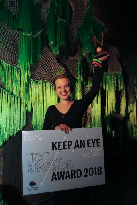 Joana Schneider winner Keep an Eye Textile & Fashion Award 2018