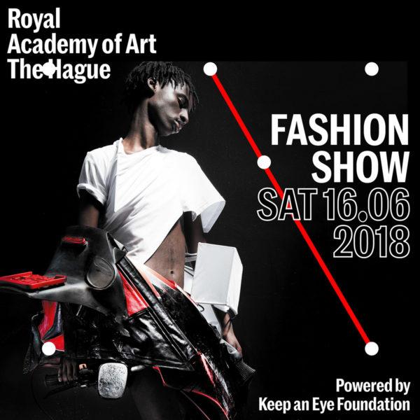 Campaign image KABK Fashion Show 2018