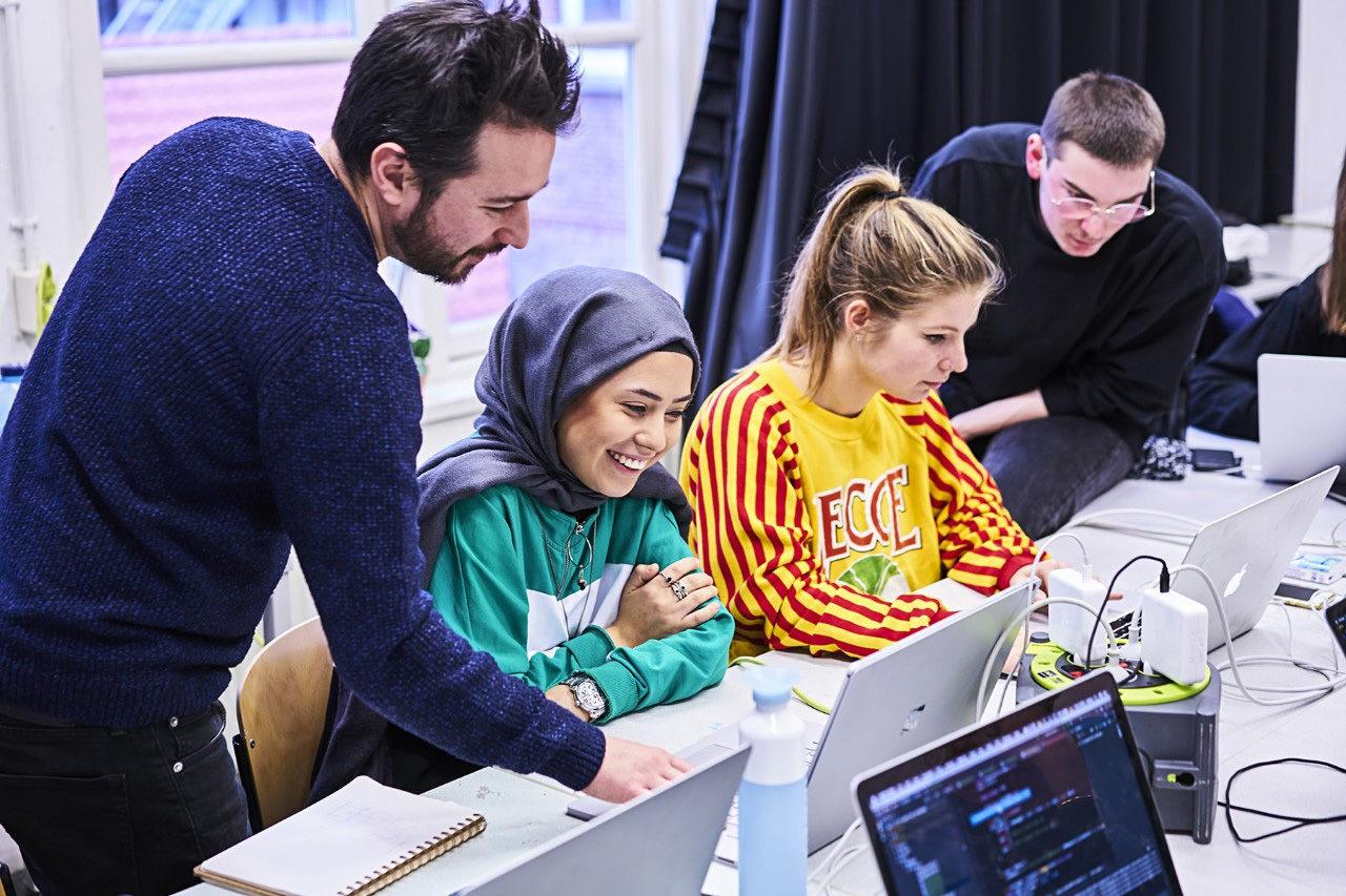 Tech Week op de KABK-afdeling Grafisch Ontwerpen in januari 2020