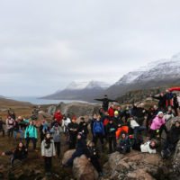 Field trip to Iceland by the 'Royal Cult Club'