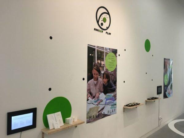 Makeco Play in School van de Toekomst tentoonstelling in het Onderwijsmuseum