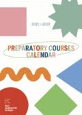 Cover Calendarium Voortrajecten 2021-2022