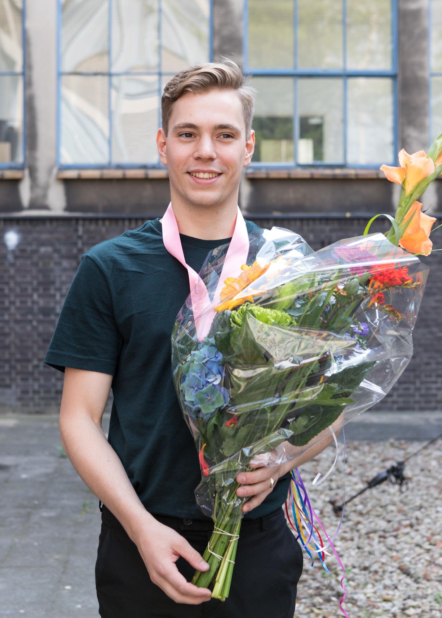 Koenraad de Groot, winner Royal Academy Masters Award