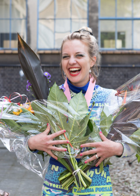 Joana Schneider, Winner KABK ba Textile Fashion department award 2018