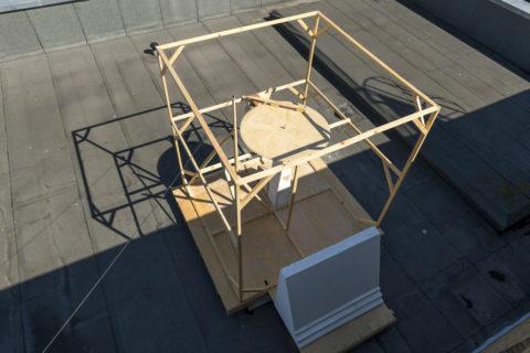 Janne Schipper, installation view KABK Bachelor Fine Arts graduation project 2018