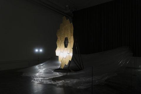 Leandros Ntolas, installation view KABK Master ArtScience Graduation project 2018
