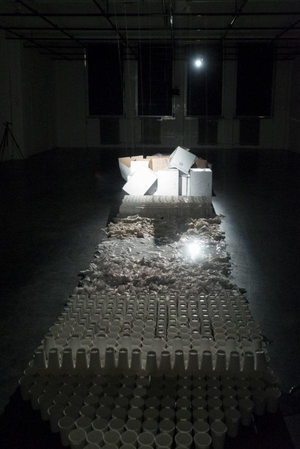 Koenraad de Groot, installation view KABK Master ArtScience Graduation project 2018