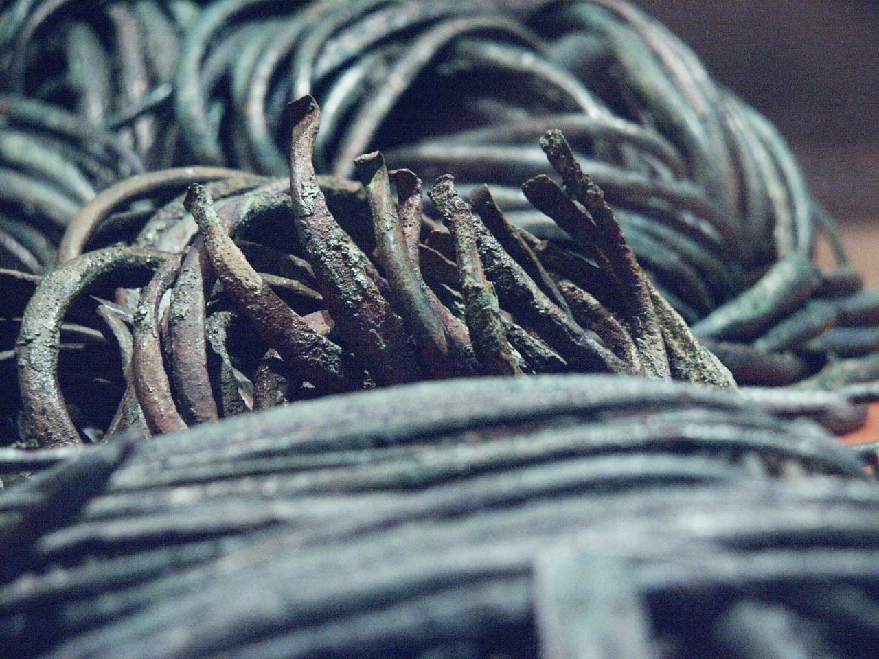 Bronzen ringen - Foto: Maikel Kuipers