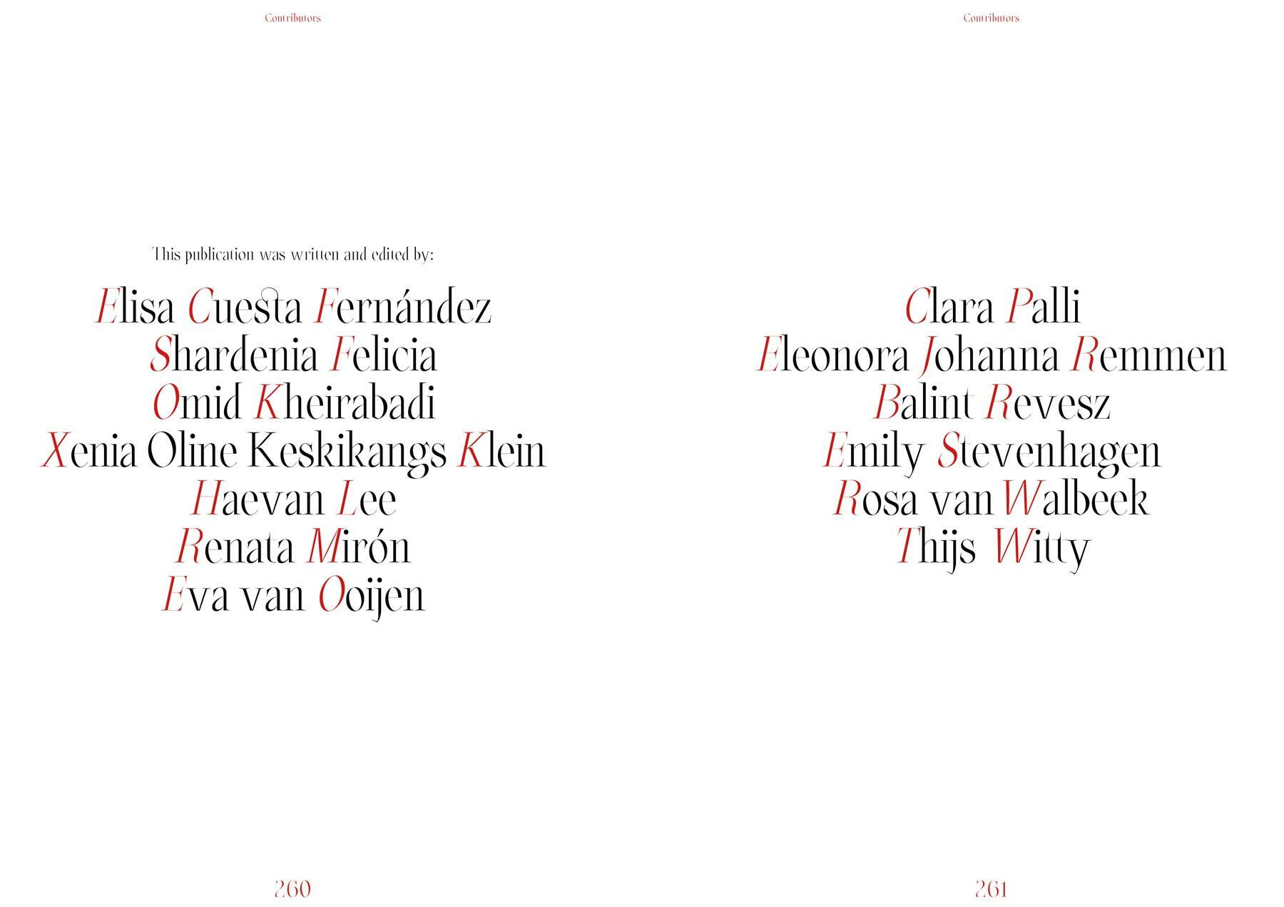 contributors Key Words publication