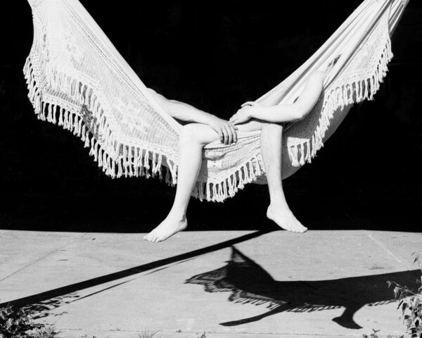 black and white photo, Hängematte © Sophie Allerding