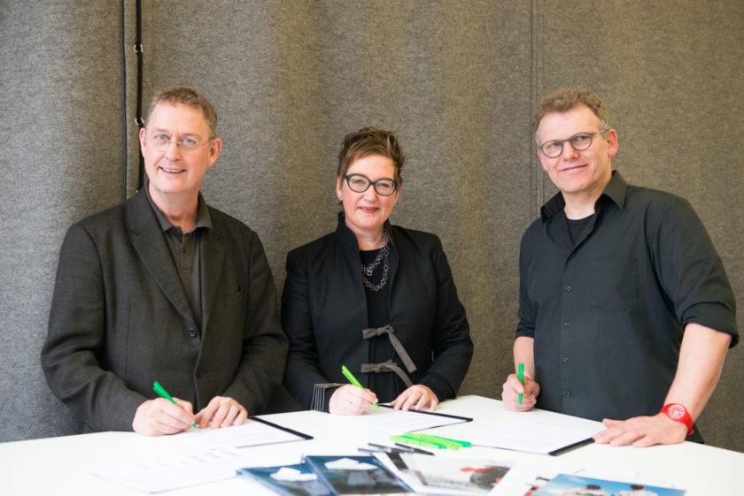 Henk van der Meulen Marieke Schoenmakers en Joris Wijsmuller