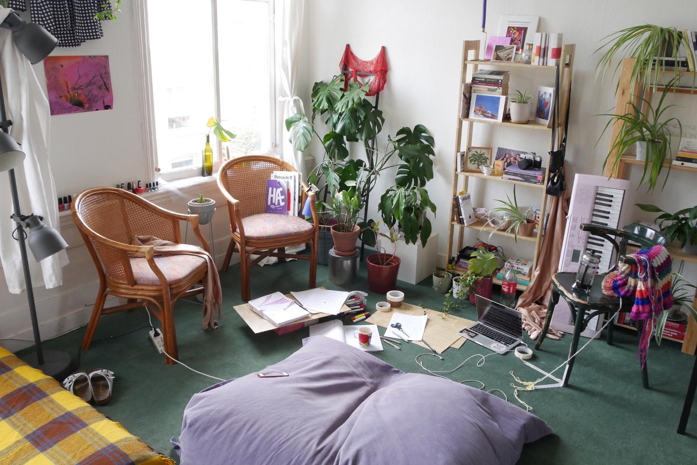 Eva Sigurðardóttir room and studio space