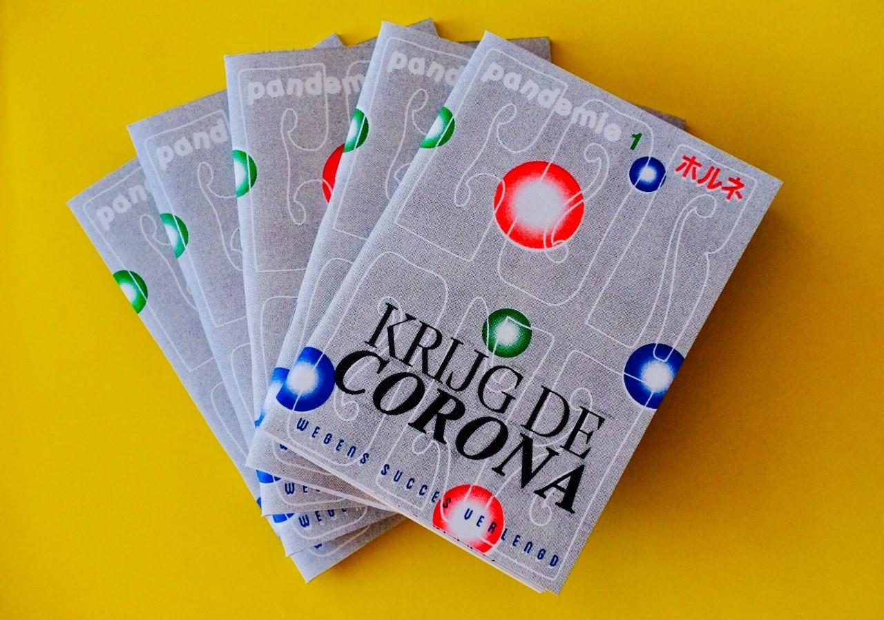Pandemie Magazine, eerste editie 'Krijg de Corona'