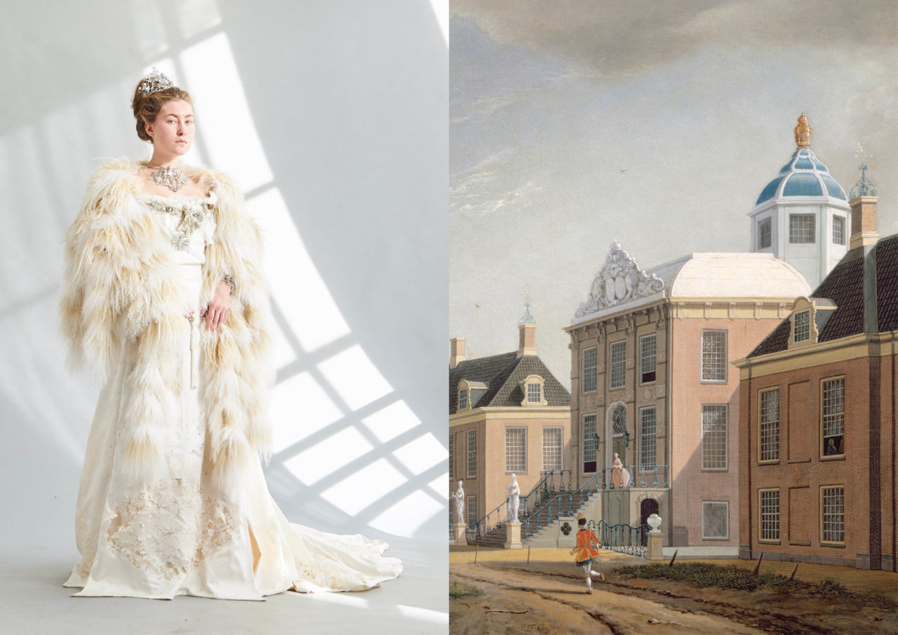 ​Masterly The Hague 2019, Kostuum door Iulia Hmarnaia, & Palace Huis ten Bosch door Jan Ten Compe​