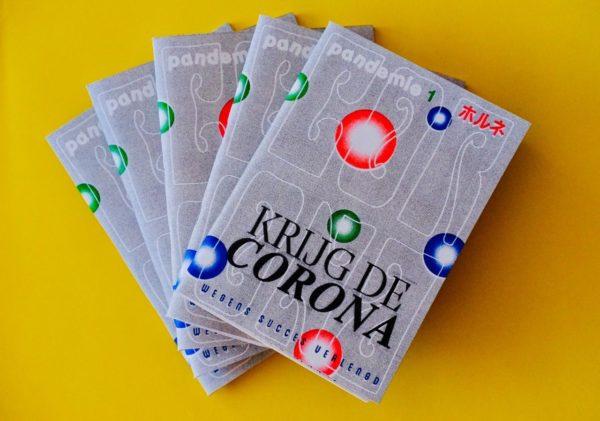 Pandemie Magazine - eerste editie 'Krijg de Corona'