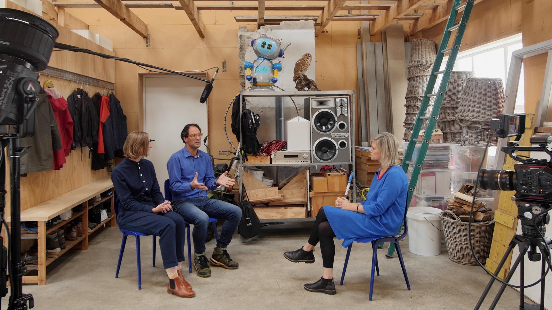 Alice Twemlow in conversation with Krijn Christiaansen and Cathelijne Montens (KCCM)