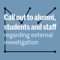 Bezemer & Schubad calls out to alumni, students and staff regarding external research