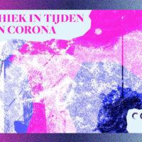 CEG's essaybundel 'Ethiek in tijden van Corona' ontworpen door master studenten Non Linear Narrative